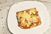 土司披萨(内含披萨酱做法)的做法