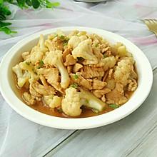 花菜炒鸡胸肉