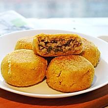 #硬核菜谱制作人#玉米面馅饼