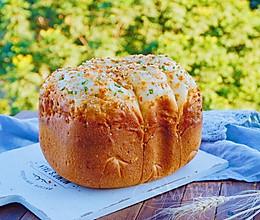 香葱肉松面包~面包机版的做法