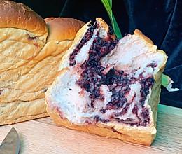 #合理膳食 营养健康进家庭#紫米吐司的做法
