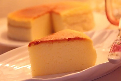 轻乳酪蛋糕——恋爱般的滋味