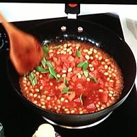 番茄烩黄豆的做法图解6