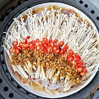 蒜蓉粉丝蒸金针菇——快手下饭就靠它的做法图解14