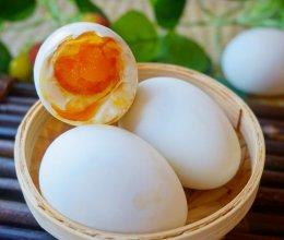 自制爆油咸鸭蛋的做法