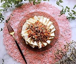 #秋天怎么吃#肉末蒸豆腐的做法