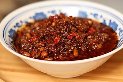 辣椒黄豆炸酱