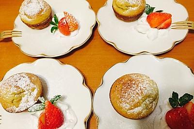 香蕉酸奶cupcake for baby(8个)