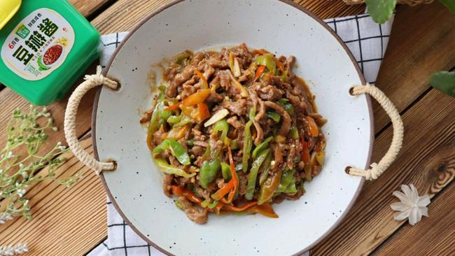 螺丝椒炒牛肉丝(酱香)鲜辣下饭的做法