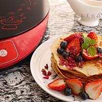 养颜好滋味-玫瑰蜂蜜松饼#洁柔食刻,纸为爱下厨#的做法图解12