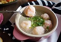 白萝卜丝虾丸汤|一锅鲜的做法
