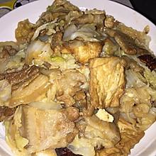 猪肉白菜炖豆腐