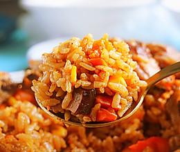 电饭锅排骨焖饭│喷香可口的做法