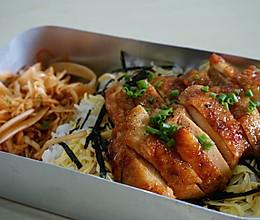 完美便当,照烧鸡排饭的做法