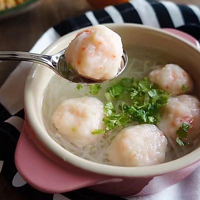 白萝卜丝虾丸汤|一锅鲜