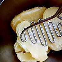 私家虎皮尖椒酿土豆泥的做法图解3