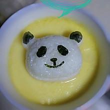 芙蓉蛋配白饭