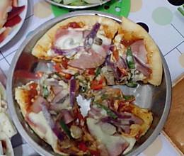 不用烤箱的披萨的做法