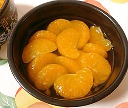秋天的第一颗橘子——冰糖橘子罐头的做法