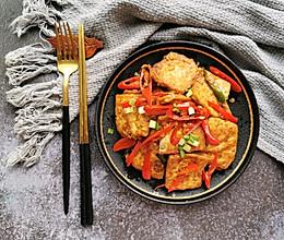 焖煎豆腐的做法