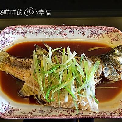 清蒸鲈鱼(详细步骤)