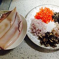 把爱和美食圈起来--海参糯米鱿鱼圈的做法图解2