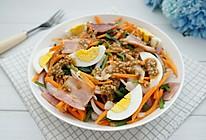 菠菜培根沙拉的做法