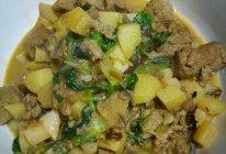 红烧土豆冻豆腐的做法