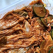 韩式泡菜:泡面的完美搭配