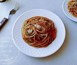香肠百瓜番茄面的做法