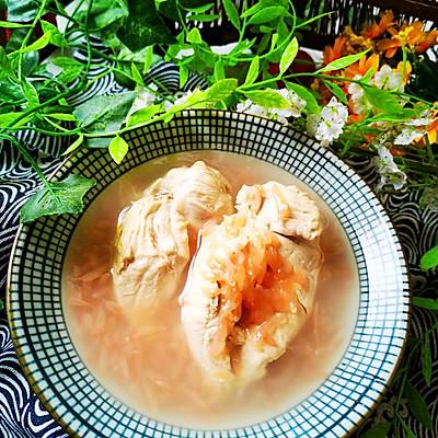 柚子鸡胸肉汤