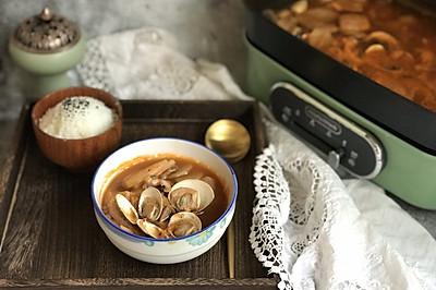 海鲜泡菜汤