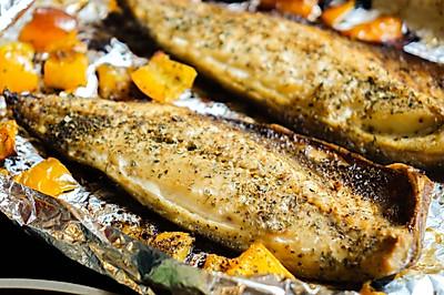 优质蛋白|烤帅气青花鱼