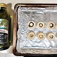减脂期橄榄油烤口蘑减脂餐#白色情人节限定美味#的做法图解1