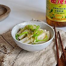 尖椒豆芽炒年糕#金龙鱼营养强化维生素A 新派菜油#