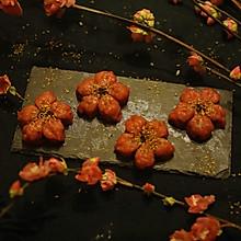 桃花和果子