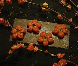 桃花和果子的做法