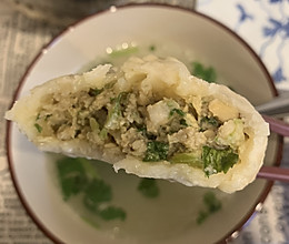 满满汁水!鲜香可口的猪肉芹菜香菇馅包子!的做法