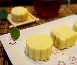 清爽去暑绿豆糕#方太蒸爱行动#的做法