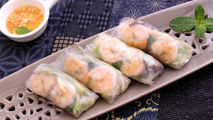 越南春卷,一茶一饭的光辉,是我俩的小确幸。