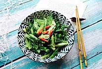 #精品菜谱挑战赛#家常菜+清炒油麦菜的做法