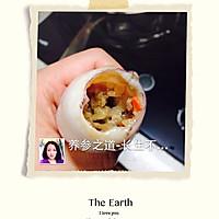 把爱和美食圈起来--海参糯米鱿鱼圈的做法图解5