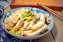 酸菜烧生鱼#给老爸做道菜#的做法