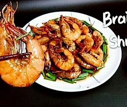 油焖虾【10分钟快手菜】蜜桃爱营养师私厨-优质蛋白质的做法