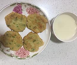 黄豆两吃(豆浆+合渣饼)的做法