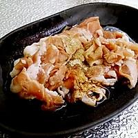 酸菜羊肉盖拌面的做法图解2