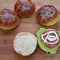 洋葱猪肉堡#美的烤箱菜谱#的做法图解6