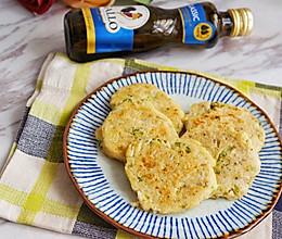 豆渣藕饼#Gallo橄露橄榄油#的做法