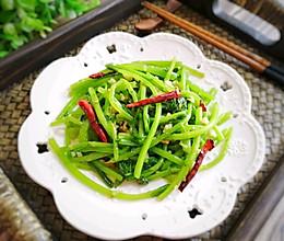 蒜蓉茼蒿的做法