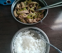 青椒炒肉丝的做法